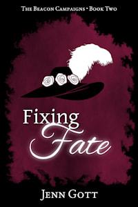 """Cover of """"Fixing Fate"""" by Jenn Gott"""