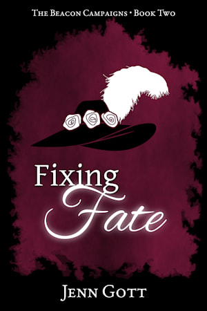 """Cover for """"Fixing Fate"""" by Jenn Gott"""