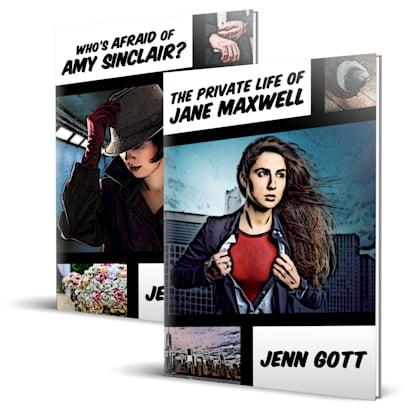 Covers for Hopefuls series by Jenn Gott