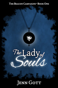 """Cover of """"The Lady of Souls"""" by Jenn Gott"""