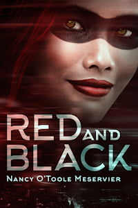 """Cover of """"Red and Black"""" by Nancy O'Toole Meservier"""