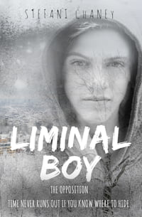 """Cover of """"Liminal Boy"""" by Stefani Chaney"""